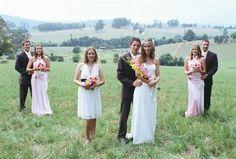 Photographers image by : Anthony T Reynolds Photographics.Hazy and hot wedding day,Jindivick,Victoria