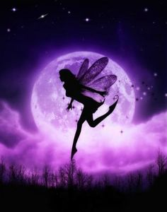 Purple Moon Fairy