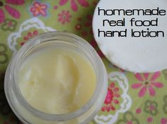 How to Make Homemade Tallow Balm, a natural lotion from Heather Dessinger's DIY Organic Beauty Recipes eBook :: via Kitchen Stewardship