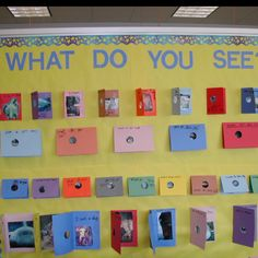 What Do You See- art styles theme bulletin board? activity for art show?