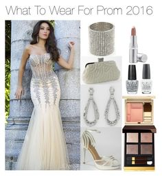 """What To Wear For Prom 2016!"" by edressme ❤ liked on Polyvore featuring Camille la Vie, Tom Ford, OPI, La Prairie and Clarins"