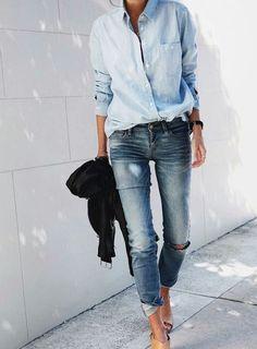 Street style | All-denim everything