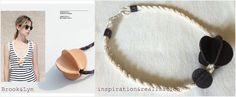 inspiration and realisation: DIY fashion blog: leather beads necklace