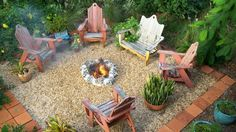 firepit and porch idea