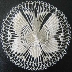 Website is not available Bobbin Lace Patterns, Macrame Patterns, Hand Embroidery Patterns, Weaving Patterns, Ribbon Embroidery, Embroidery Stitches, Tenerife, Dorset Buttons, Crochet Cactus
