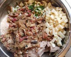 Dagadó kicsit máshogy   kiralyanna receptje - Cookpad receptek Potato Salad, Bacon, Grains, Rice, Potatoes, Ethnic Recipes, Food, Potato, Essen
