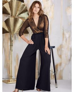 Wow- what an amazing jumpsuit. Totally reminiscent of the seventies, and fantastic whatever your age! From Phase Eight