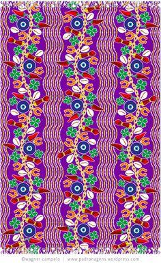 Pareo SORTE (Luck) purple
