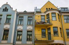 Huvilakatu, Eira, Helsinki.