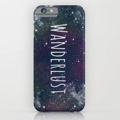 """Wanderlust - Space"" iPhone & iPod Case"