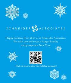 Happy Holidays from Schneider Associates