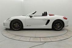2014 Porsche Boxster White | Hickory, North Carolina | Porsche of Hickory