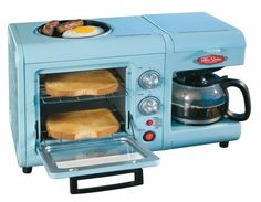 Breakfast is all in one with this toaster!  Re-pin and click here to #win a new toaster! http://womanfreebies.com/general-freebies/thomas-toaster-giveaway/?3in1  *Expires February 28, 2013*