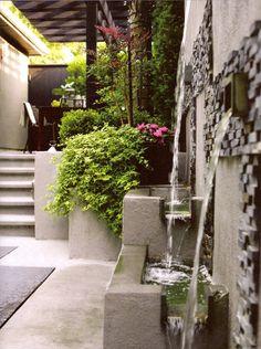Backyard Wall Fountain