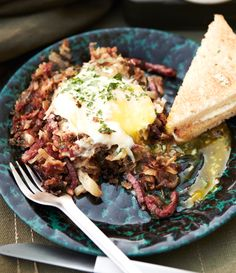 Weekend Brunch: Corned Beef Hash with Eggs: BA Daily - The diner staple gets a slightly healthier makeover, but it's still greasy spoon-worthy.