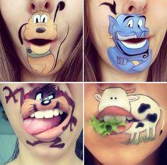 ¡Diversión o misterio para #Halloween! Tu eliges la mejor opción.  Encuentra los mejores productos para maquillar tus #labios en nuestra tienda --> www.almashopping.com