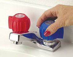 Color Coded Faucet Grippers PA161