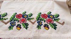 Fair Isles, Towels, Cross Stitch, Kitchen, Embroidered Quilts, Cross Stitch Art, Dots