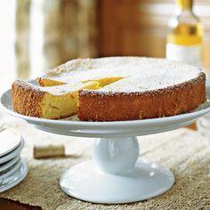 Almond-Saffron Cake | MyRecipes