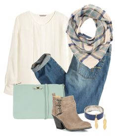 """Casual Sunday"" by madison-ashley-0203 ❤ liked on Polyvore featuring H&M, American Eagle Outfitters, Charlotte Russe, Furla, Sole Society, Bling Jewelry, women's clothing, women, female and woman"