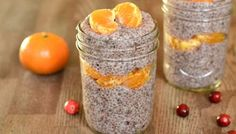 Cranberry Vanilla Chia Pudding