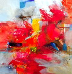 Sold Size:40/40 Inch,  Original Painting on canvas by Gabi Ger
