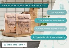 First Time In SA: Faithful to Nature's Revolutionary Products Eco Friendly Bags, Forest Stewardship Council, Plastic Waste, Guilt Free, Revolutionaries, Compost, Biodegradable Products, First Time, Plant Based