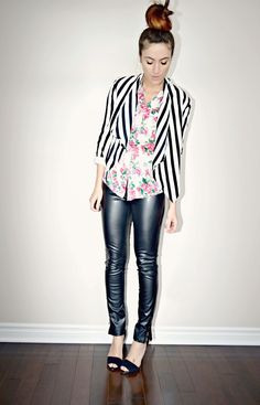 Quality Rivets, Stripes and Florals