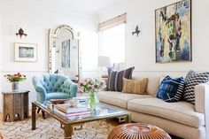 Katie Hodges's pad strikes the right balance of attainable and chic.