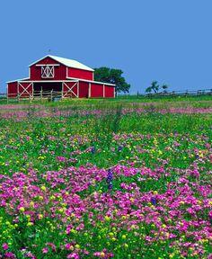 Texas Barn by Richard Jansen, via 500px
