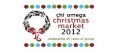 Chi Omega Christmas Market - November 14-17, 2012