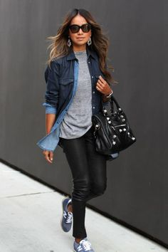 Ideas Sneakers Outfit Summer Fashion Looks New Balance Fashion Mode, Look Fashion, Urban Fashion, Autumn Fashion, Womens Fashion, Sporty Fashion, Ski Fashion, Lifestyle Fashion, Fashion Styles