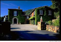 Staglin...the wine, the residence from The Parent Trap movie...love it all