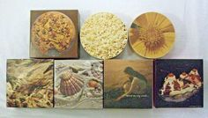 7 Springbok Ambassador Mini Puzzles Appeteasers Naturescapes Cookies Wood Sea #Springbok