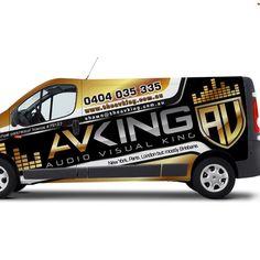Ontwerpen   Audio visual / Electrical company - Van needs some COLOUR!   Car, Truck or Van Wrap ontwerpwedstrijd