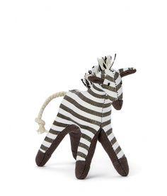 NanaHuchy - Mini Zebra Baby Rattle