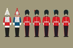British Army Uniform, British Uniforms, Men In Uniform, Queens Guard, 28mm Miniatures, Military Insignia, Royal Guard, British History, Troops