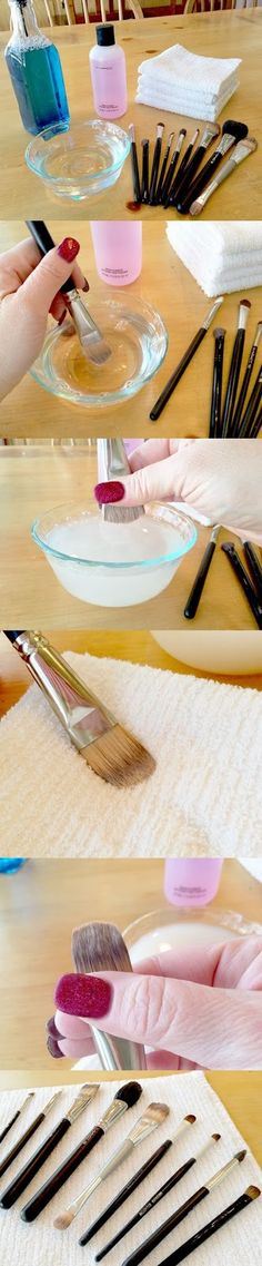 DIY - How To Clean Your Makeup Brushes