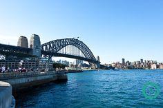 Most Sydney Harbour Bridge - najbardziej znany most w Australii z pięknym widokiem na operę.  #travel #podróże #sydney #australia