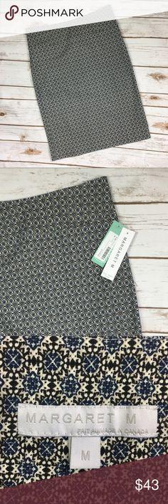 "Stitch Fix Margaret M Christina Print Pencil Skirt New With Tags.  Stitch Fix Margaret M Christina Print Pencil Skirt. Size Medium. 75% rayon/21% nylon/4% spandex. Length:30"" Stitch Fix Skirts Pencil"