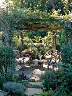 Outdoor Seating ~ Outdoor Landscaping Trends - Backyard Design Ideas - Country Living