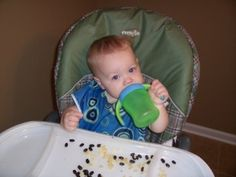 tips on feeding baby their first foods