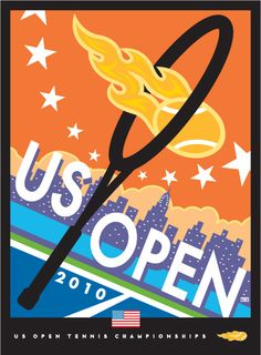 US OPEN • TED WRIGHT posters • 1