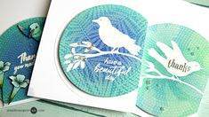 Stamp Ink Layering by Jennifer McGuire Ink- unicorn white + distress