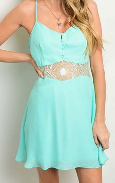 Mint Flair Dress $35.00 cowgirl dress