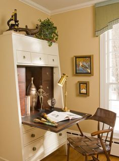 another idea for a small home office space