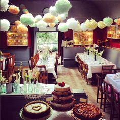 cakes and decorations
