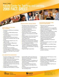 Fact sheet design inspiration. I like how sections of content are ...