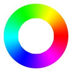 Színezet – Hétköznapi használatban a színezet alatt magát a színt értjük, ami egy olyan érzéklet az emberi szem számára, amihez különböző megnevezéseket társítunk, mint a vörös, narancs, sárga, zöld, kék, lila és bíbor, hasonlóan a szivárvány színeihez. Ha ezt egy folyamatos átmenetben ábrázoljuk, akkor színkört kapunk. Ez a színkör kizárólag a tiszta (telített) színeket tartalmazza. Company Logo, Symbols, Letters, Color, Colour, Icons, Fonts, Colors, Letter