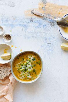 sopa de ervilha fresca.